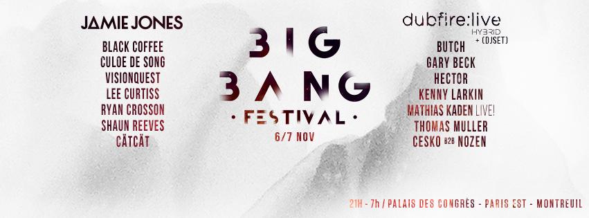 Jeu Concours 5×2 places BIG BANG 6 ET 7 NOVEMBRE
