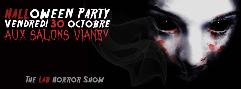 Jeu Concours 5X2 Places Halloween Party vendredi 30 oct @Salons Vianey