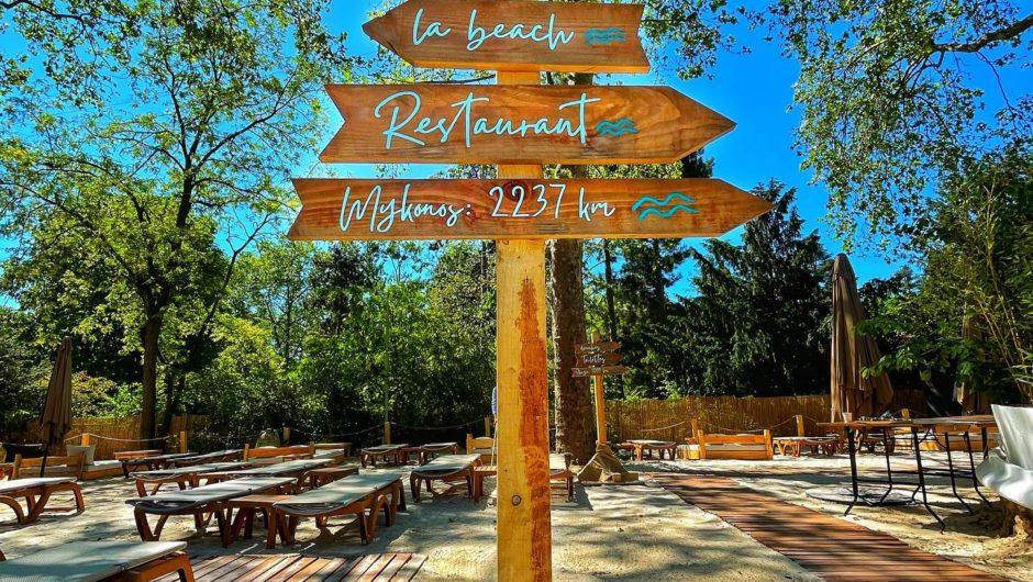 EVENEMENT : Le Chalet du Lac devient La Beach Parisienne le temps de l'été