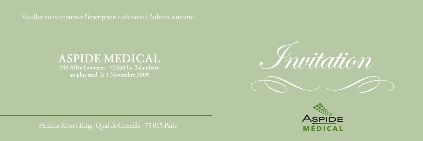 Soirée Aspide Médical au River's King lors du 103ème Congrès français d'Urologie 2009