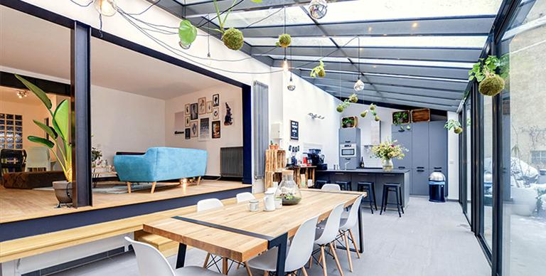 Privatisation, Location, Maison avec verrière et jardin en plein coeur de Paris