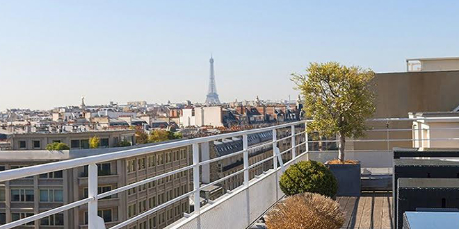 Privatisation / Location, Rooftop 360, Paris 17eme